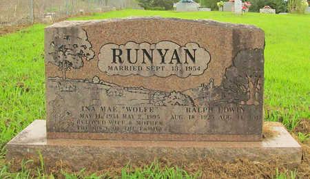 RUNYAN, INA MAE - Washington County, Arkansas | INA MAE RUNYAN - Arkansas Gravestone Photos