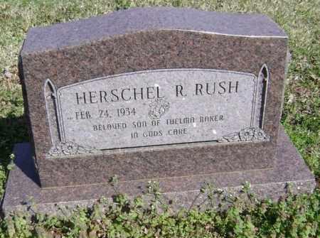RUSH, HERSCHEL R. - Washington County, Arkansas | HERSCHEL R. RUSH - Arkansas Gravestone Photos