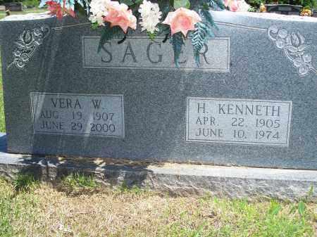 WILSON SAGER, VERA - Washington County, Arkansas | VERA WILSON SAGER - Arkansas Gravestone Photos