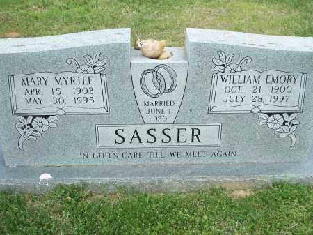 SASSER, MARY MYRTLE - Washington County, Arkansas | MARY MYRTLE SASSER - Arkansas Gravestone Photos