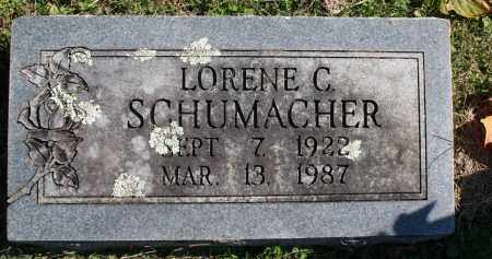 SCHUMACHER, LORENE C. - Washington County, Arkansas | LORENE C. SCHUMACHER - Arkansas Gravestone Photos