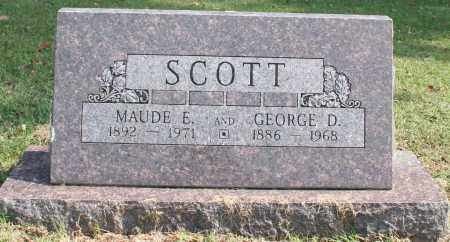 SCOTT, MAUDE E. - Washington County, Arkansas | MAUDE E. SCOTT - Arkansas Gravestone Photos