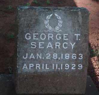 SEARCY, GEORGE T. - Washington County, Arkansas   GEORGE T. SEARCY - Arkansas Gravestone Photos