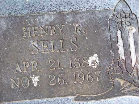 SELLS, HENRY R. - Washington County, Arkansas | HENRY R. SELLS - Arkansas Gravestone Photos