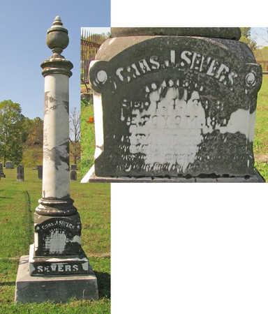 SEVERS, CHARLES J - Washington County, Arkansas   CHARLES J SEVERS - Arkansas Gravestone Photos