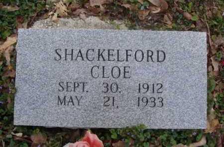 SHACKELFORD, CLOE - Washington County, Arkansas   CLOE SHACKELFORD - Arkansas Gravestone Photos