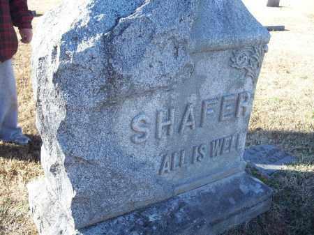 SHAFER, FAMILY PLOT - Washington County, Arkansas | FAMILY PLOT SHAFER - Arkansas Gravestone Photos