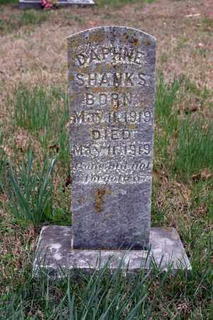 SHANKS, DAPHNE - Washington County, Arkansas | DAPHNE SHANKS - Arkansas Gravestone Photos
