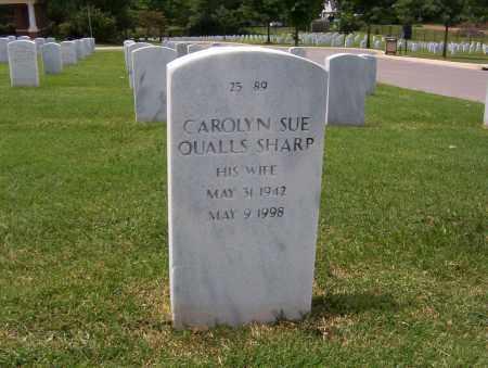 QUALLS SHARP, CAROLYN - Washington County, Arkansas   CAROLYN QUALLS SHARP - Arkansas Gravestone Photos