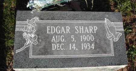 SHARP, EDGAR - Washington County, Arkansas | EDGAR SHARP - Arkansas Gravestone Photos