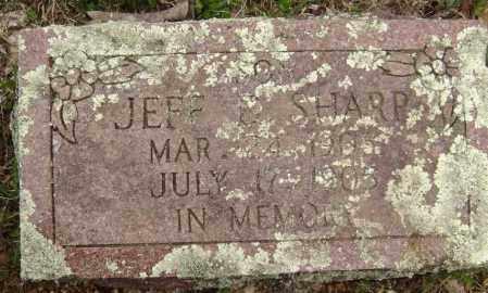 SHARP, JEFF D. - Washington County, Arkansas   JEFF D. SHARP - Arkansas Gravestone Photos