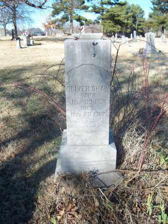 SHAW, OLIVER - Washington County, Arkansas | OLIVER SHAW - Arkansas Gravestone Photos