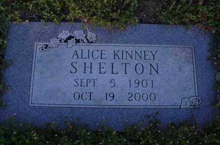 KINNEY SHELTON, ALICE - Washington County, Arkansas | ALICE KINNEY SHELTON - Arkansas Gravestone Photos