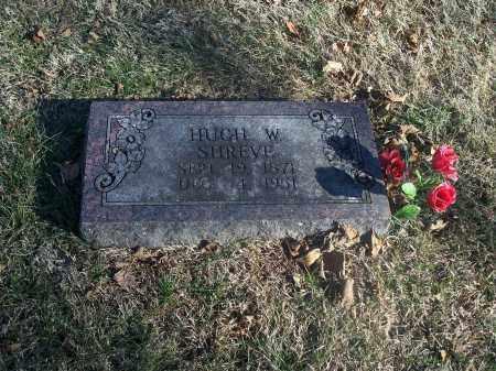 SHREVE, HUGH W. - Washington County, Arkansas   HUGH W. SHREVE - Arkansas Gravestone Photos