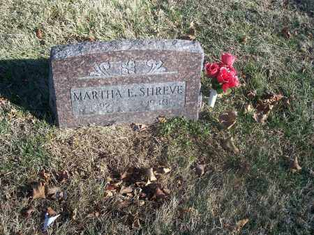 SHREVE, MARTHA E. - Washington County, Arkansas | MARTHA E. SHREVE - Arkansas Gravestone Photos