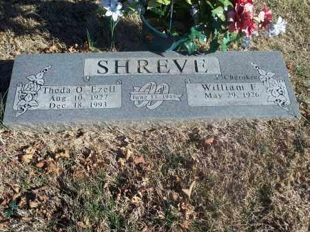 EZELL SHREVE, THEDA O. - Washington County, Arkansas | THEDA O. EZELL SHREVE - Arkansas Gravestone Photos