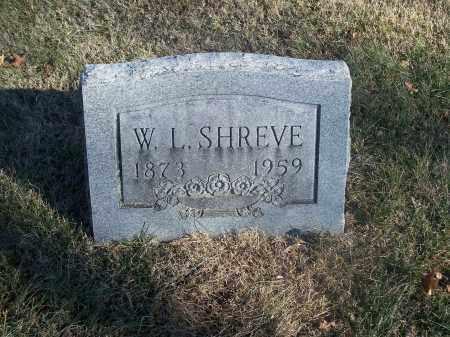 SHREVE, W. L. - Washington County, Arkansas | W. L. SHREVE - Arkansas Gravestone Photos