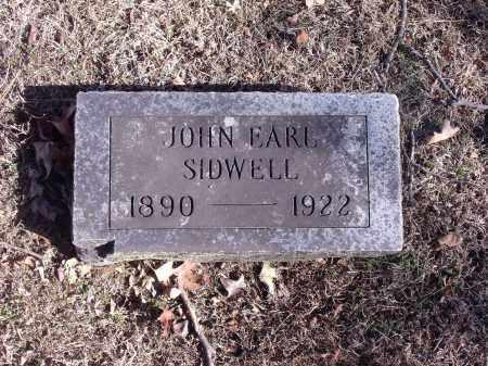 SIDWELL, JOHN EARL - Washington County, Arkansas | JOHN EARL SIDWELL - Arkansas Gravestone Photos