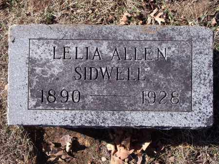 SIDWELL, LELIA - Washington County, Arkansas | LELIA SIDWELL - Arkansas Gravestone Photos