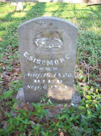 SISEMORE, EDWARD I. - Washington County, Arkansas | EDWARD I. SISEMORE - Arkansas Gravestone Photos