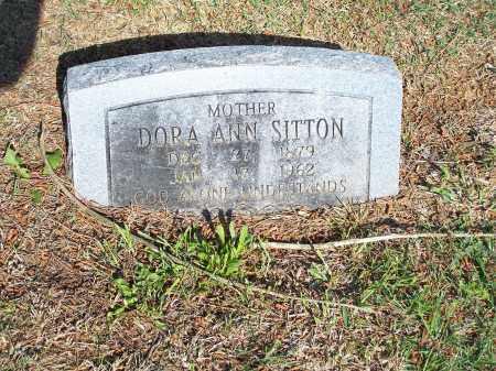 SITTON, DORA ANN - Washington County, Arkansas   DORA ANN SITTON - Arkansas Gravestone Photos