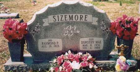 SIZEMORE, DOROTHY MAE - Washington County, Arkansas | DOROTHY MAE SIZEMORE - Arkansas Gravestone Photos