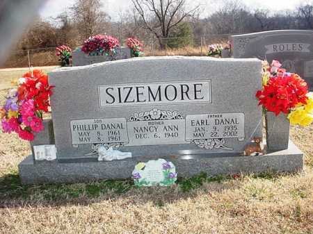 SIZEMORE, PHILLIP DANAL - Washington County, Arkansas | PHILLIP DANAL SIZEMORE - Arkansas Gravestone Photos