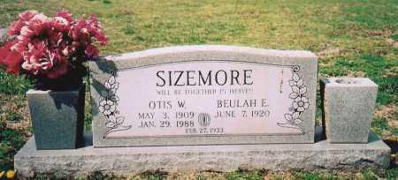 SIZEMORE, OTIS W. - Washington County, Arkansas | OTIS W. SIZEMORE - Arkansas Gravestone Photos