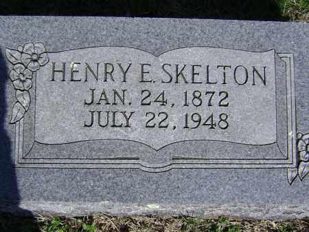 SKELTON, HENRY E. - Washington County, Arkansas | HENRY E. SKELTON - Arkansas Gravestone Photos