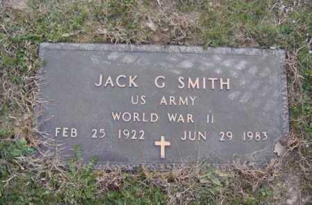 SMITH  (VETERAN WWII), JACK G. - Washington County, Arkansas | JACK G. SMITH  (VETERAN WWII) - Arkansas Gravestone Photos