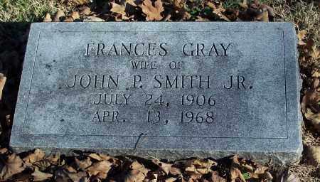 GRAY SMITH, FRANCES - Washington County, Arkansas | FRANCES GRAY SMITH - Arkansas Gravestone Photos
