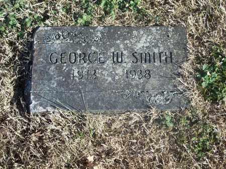 SMITH, GEORGE W. - Washington County, Arkansas | GEORGE W. SMITH - Arkansas Gravestone Photos