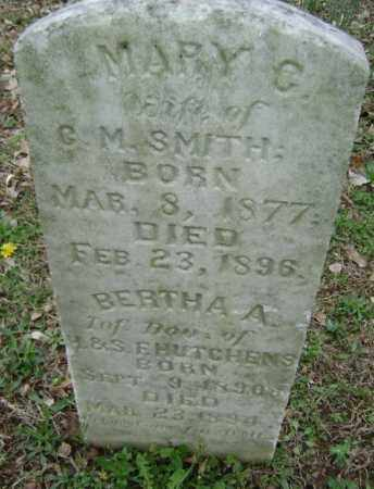 SMITH, MARY C, - Washington County, Arkansas | MARY C, SMITH - Arkansas Gravestone Photos