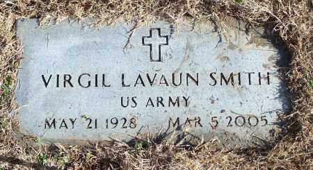 SMITH (VETERAN), VIRGIL LAVAUN - Washington County, Arkansas | VIRGIL LAVAUN SMITH (VETERAN) - Arkansas Gravestone Photos