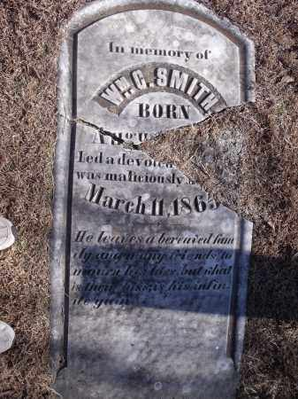SMITH, WILLIAM C. - Washington County, Arkansas | WILLIAM C. SMITH - Arkansas Gravestone Photos