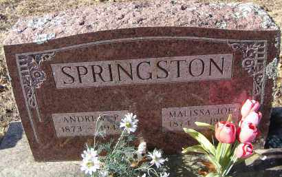 "SPRINGSTON, MALISSA ""LOE"" - Washington County, Arkansas | MALISSA ""LOE"" SPRINGSTON - Arkansas Gravestone Photos"