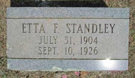 STANDLEY, ETTA - Washington County, Arkansas | ETTA STANDLEY - Arkansas Gravestone Photos