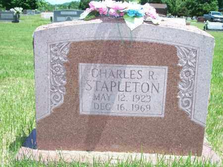 STAPLETON, CHARLES R. - Washington County, Arkansas   CHARLES R. STAPLETON - Arkansas Gravestone Photos
