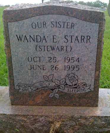 STEWART STARR, WANDA E. - Washington County, Arkansas | WANDA E. STEWART STARR - Arkansas Gravestone Photos