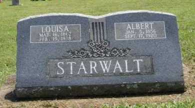 STARWALT, ALBERT - Washington County, Arkansas | ALBERT STARWALT - Arkansas Gravestone Photos