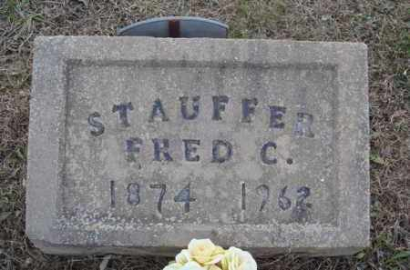 STAUFFER, FRED C. - Washington County, Arkansas | FRED C. STAUFFER - Arkansas Gravestone Photos