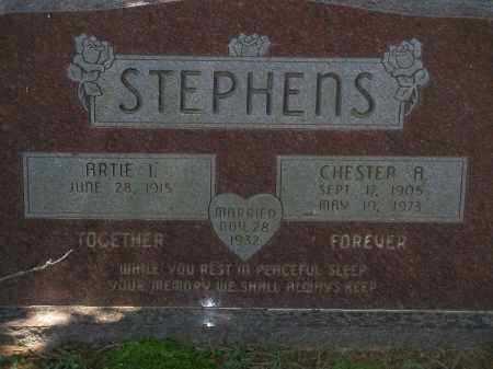STEPHENS, CHESTER A. - Washington County, Arkansas | CHESTER A. STEPHENS - Arkansas Gravestone Photos