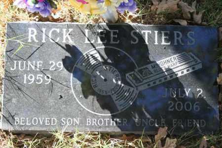 STIERS, RICK LEE - Washington County, Arkansas | RICK LEE STIERS - Arkansas Gravestone Photos