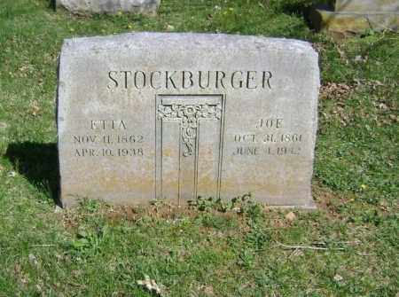 STOCKBURGER, JOE - Washington County, Arkansas | JOE STOCKBURGER - Arkansas Gravestone Photos
