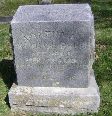 STOCKBURGER, MARTHA A - Washington County, Arkansas | MARTHA A STOCKBURGER - Arkansas Gravestone Photos