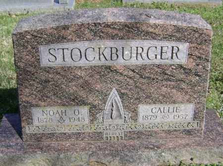 STOCKBURGER, NOAH O. - Washington County, Arkansas | NOAH O. STOCKBURGER - Arkansas Gravestone Photos