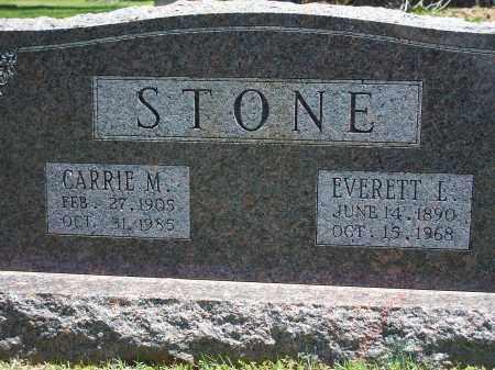 STONE, CARRIE M. - Washington County, Arkansas | CARRIE M. STONE - Arkansas Gravestone Photos