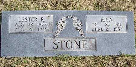 STONE, IOLA - Washington County, Arkansas   IOLA STONE - Arkansas Gravestone Photos