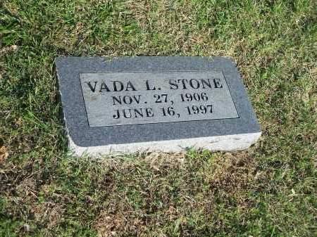 STONE, VADA L. - Washington County, Arkansas   VADA L. STONE - Arkansas Gravestone Photos