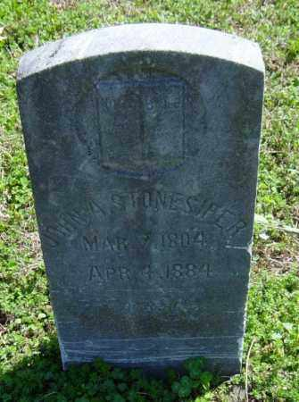 STONESIFER, JOHN A. - Washington County, Arkansas | JOHN A. STONESIFER - Arkansas Gravestone Photos